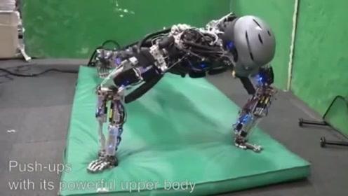 美国的机器人会做后空翻,看看日本的机器人能做出什么动作?
