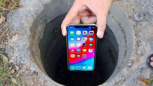 神秘枯井传出诡异响声,牛人扔进苹果X探测,画面让人很意外!