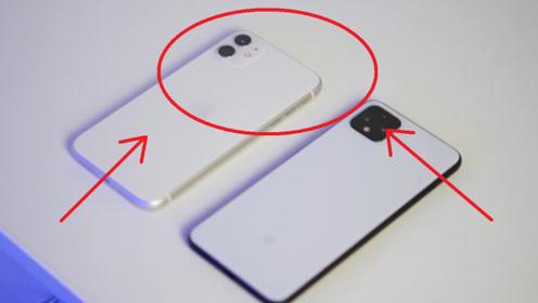 谷歌像素4和iPhone11详情对比,缺点不要太明显!你会怎么选?