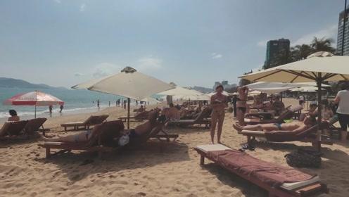 走进越南芽庄海滩,终于知道国人蜂拥来此的理由了