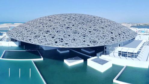 世界最奢侈山寨,花30亿元买名字,还用了46亿元来打造阿联酋卢浮宫!
