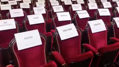 金球奖颁奖现场,看看有你的座位没!