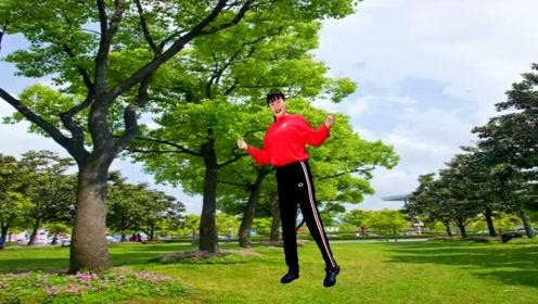 红红儿新舞《站台》动感活力好听好看有教学,超瘦身的减肥健身步子舞