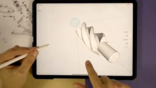 绘制一个联动结构,这种作图模式焕然一新!