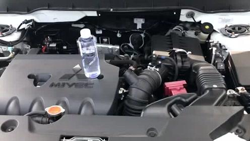 新车抢鲜看:广汽三菱劲炫ASX发动机抖动测试,比较平稳