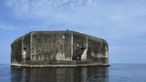 """日军占领美国号称""""永不沉没""""的碉堡,被灌两万升燃油活活烧死"""