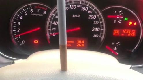 v6发动机的魅力在于,十年跑了12万公里的车,立烟打火纹丝不动
