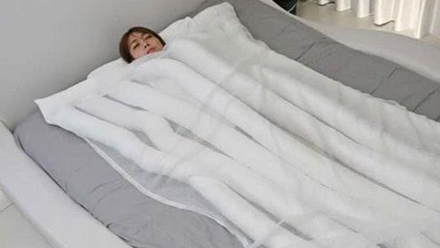 日本推出奇葩漏风被子几天订单达40万 真正享受无忧睡眠