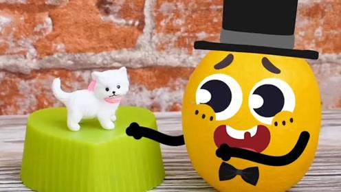 趣味涂鸦:涂鸦的美好生活,魔术师橙子的精彩表演!