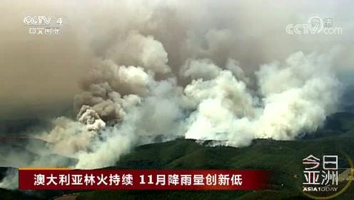 澳大利亚林火持续 11月降雨量创新低