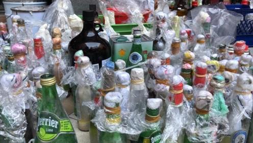 香港警方:在香港几所大学及周边检获近10000枚汽油弹