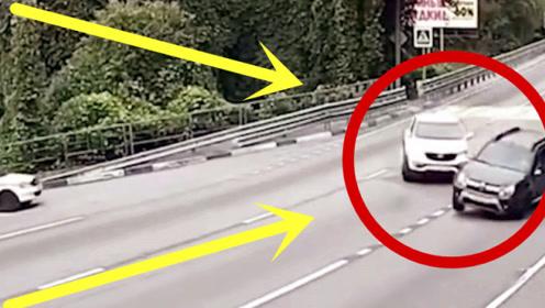 越野车司机转弯不打转向,黑车司机付出惨重代价,太狠了!