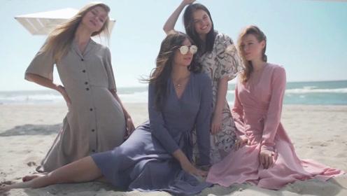 """东北人口中的""""布拉吉""""连衣裙,还是俄罗斯女孩穿起来最""""仙儿"""""""