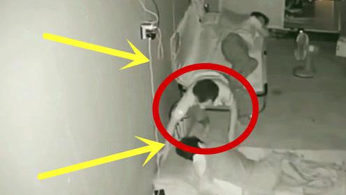 小伙瞒着妻子,做出不要脸的事,被监控全程拍下!