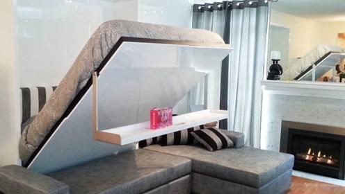 可以折叠的桌椅板凳,小房子也可以有大空间