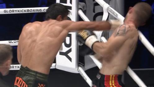马拉特暴击KO全胜猛将,卫冕金腰带!对手23战连胜惨遭终结!
