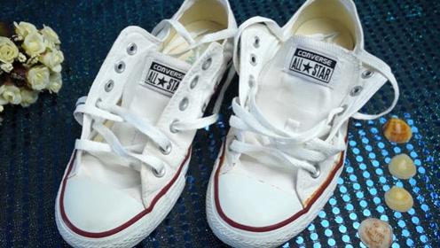 家里的旧鞋子别扔,姑娘教你一招,立马变成时髦新鞋