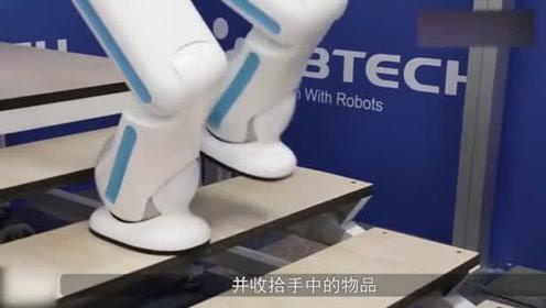 智能机器人管家,为你端茶倒水,这是未来的家用机器人啊