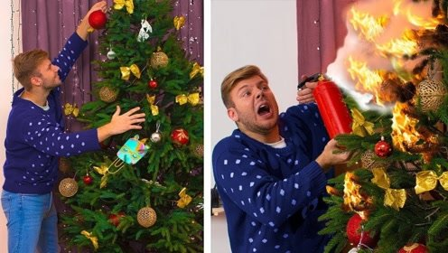 圣诞节期望VS现实