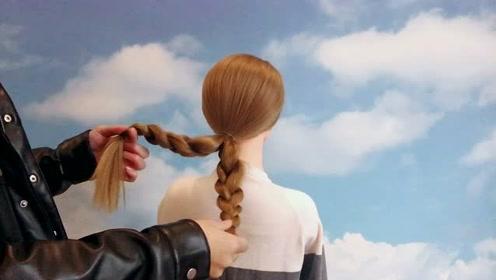 40岁到50岁头发这样扎,出来不会有人叫你阿姨了,简单实用