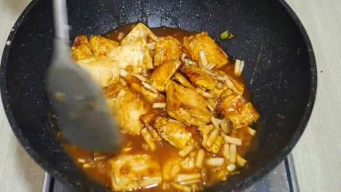 自从豆腐学会这样做,我家隔三差五就要吃一次,比麻婆豆腐还好吃