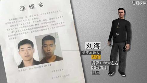 【动画】四川盐亭县看守所一盗窃嫌疑人越监脱逃,警方悬赏通缉