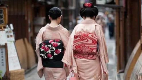"""为何日本女性穿的和服,背后有一个""""枕头""""?日本女人是这么说的"""