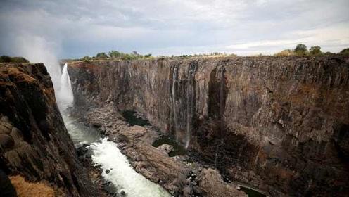 津巴布韦遇严重旱灾,维多利亚瀑布快干了