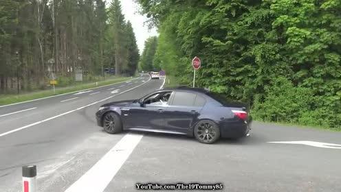 外国跑车加速欣赏,看来宝马性能跑车在外国很受欢迎!