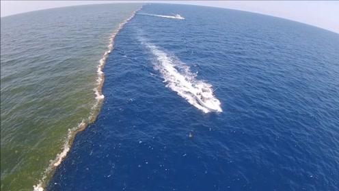 在这片神奇的水域上,太平洋和大西洋的水竟无法融合?这是为何?