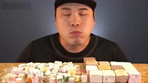 动手吃甜点:吃美味软糖 棉花糖