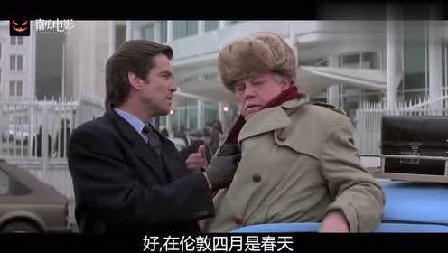 007:对手是谁?大叔:一个瘸子,你认识?邦德:认识,我打瘸的