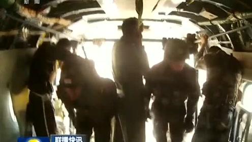 中印陆军举行反恐联合训练