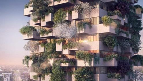 盘点世界上最净化空气的建筑,四季变换,知道是哪里吗?