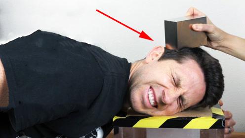 人能感受到磁场吗?让世界上磁性最强的磁铁靠近头部,会怎样呢?
