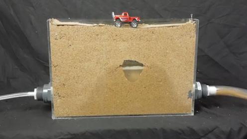 踩在下面有水的沙子上有多危险?老外模拟全程,看完令人不淡定
