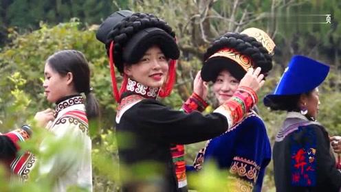 凉山彝族美女长相甜美,简直是农村版的影视明星