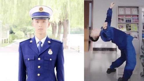 内蒙古消防小哥跳蒙古舞走红,网友:拐回家做女婿