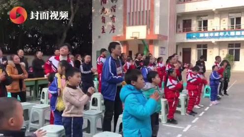 """自贡大安开展""""关爱慰问特殊儿童""""文艺汇演活动"""