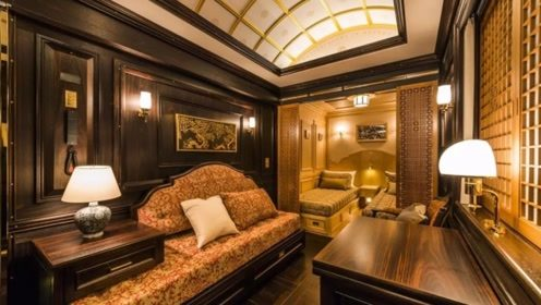 日本移动的五星级酒店,车内设施壕到令人咋舌,土豪惊呼:这火车票好值!