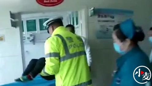 栾川4岁男童坠楼,警车变救护车18分钟送达医院
