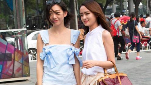 日本姑娘第一次来中国,看到街上的人感到不解:不懂中国女孩
