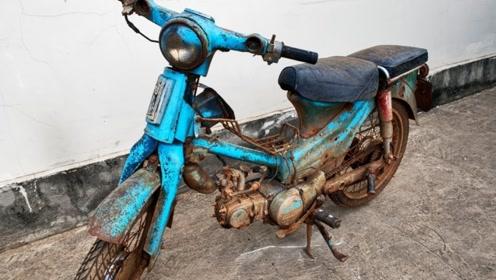 翻新1978年的本田摩托车,第一部分
