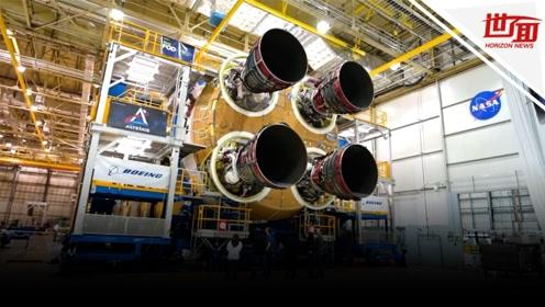 再次登月!NASA载人登月火箭建造完成 将送首位女宇航员上月球