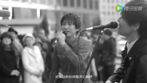 东京街头让10万人止步聆听的感人歌曲USAG《Imagine》