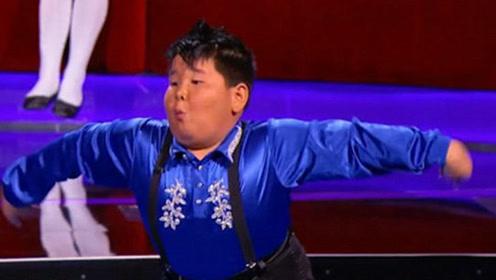 超魔性!河南9岁拉丁小胖登上美国节目,劲爆热舞这下火到了美国