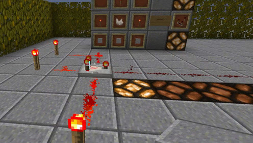 JACK版我的世界红石教程09:红石比较器的使用