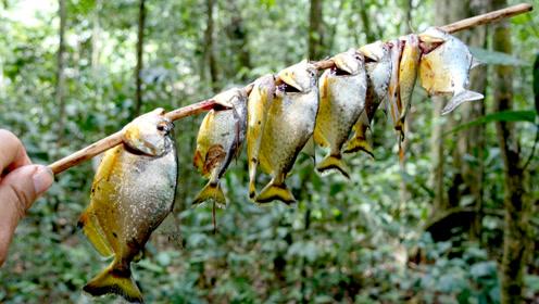 能把人啃成白骨的食人鱼,亚马逊人煎炒烹炸变着花样吃