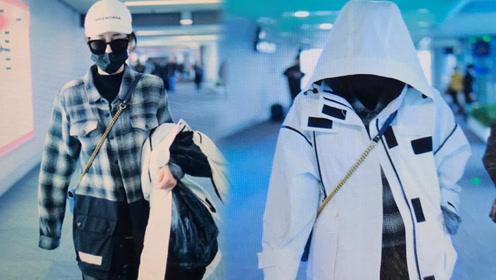 热巴戴墨镜口罩遮面捂严实 网友:这样能看见路吗?