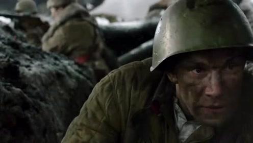 《潘菲洛夫28勇士》德军坦克报复要活埋苏军,苏军扔燃烧瓶回击